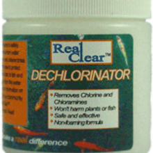 Real Clear Dechlorinator 9 oz (dry)