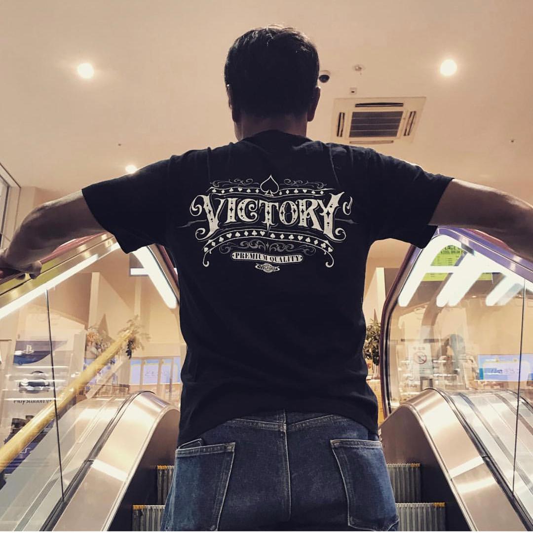 ビクトリーカスタムペイント オリジナルTシャツ