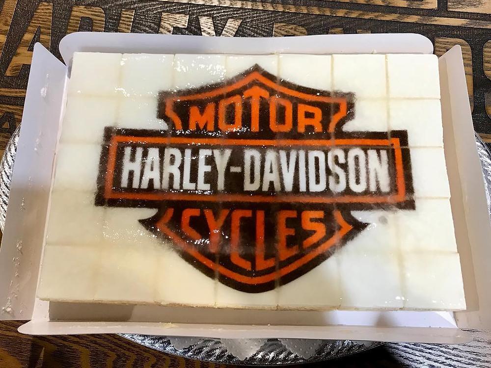 ハーレーダビッドソンケーキ