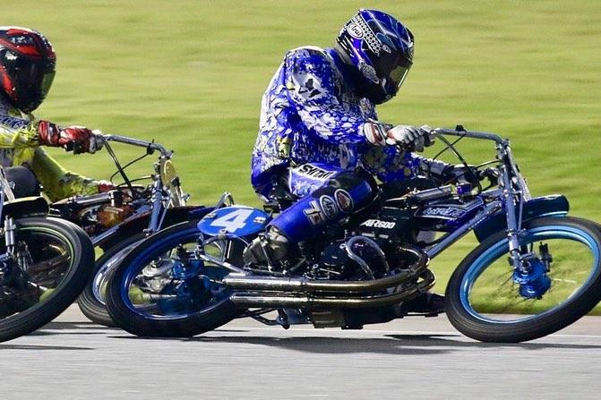 「日本選手権オートレース」レース中の青山周平選手