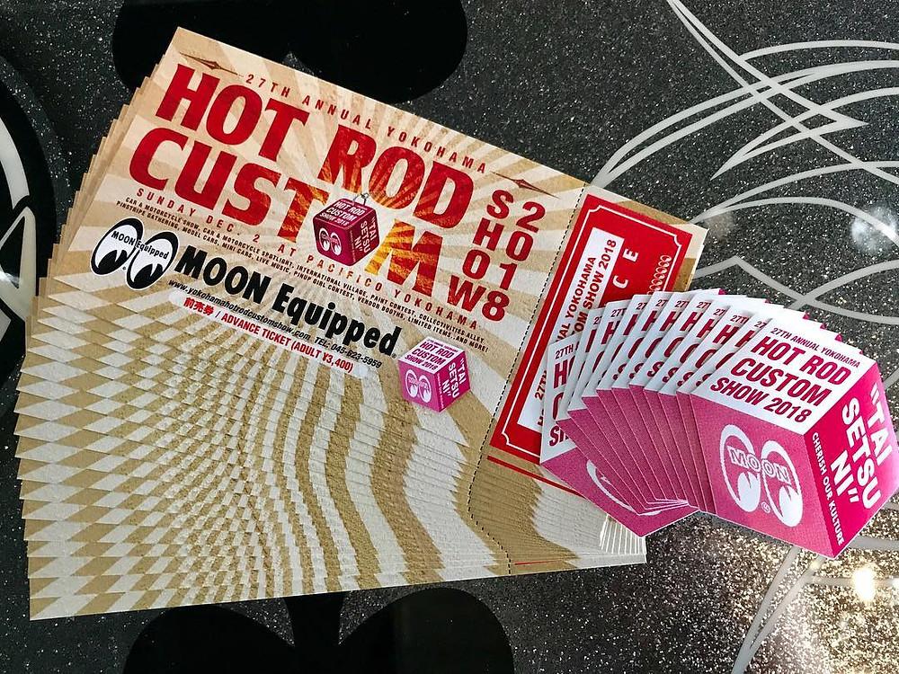 ホットロッドカスタムショーの前売りチケット