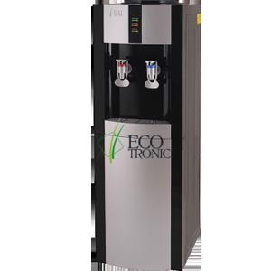 Кулер для воды Ecotronic H1-LCE black со шкафчиком