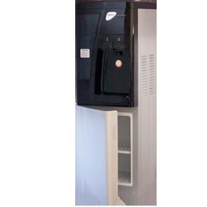 Кулер для воды со шкафчиком Aqua Work 3-W серебристый