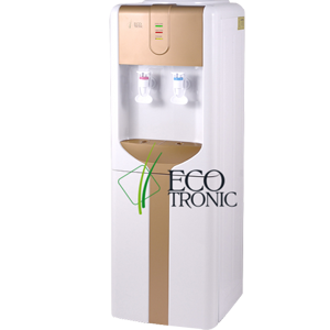 Кулер для воды Ecotronic H3-LCE gold со шкафчиком