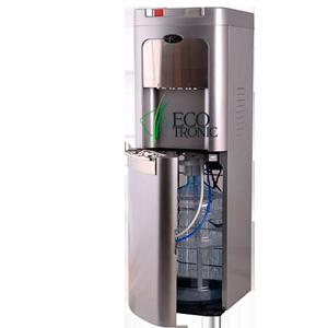 Кулер для воды Ecotronic C8-LX silver с нижней загрузкой бутыли