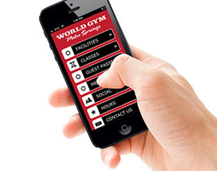 World Gym Palm Springs mobile for iPhone