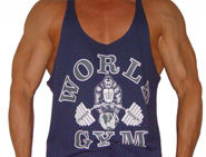 World Gym Palm Springs tank tops and tees.
