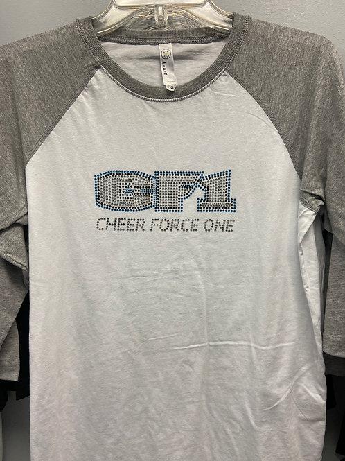 BLING: CF1 Baseball T-shirt