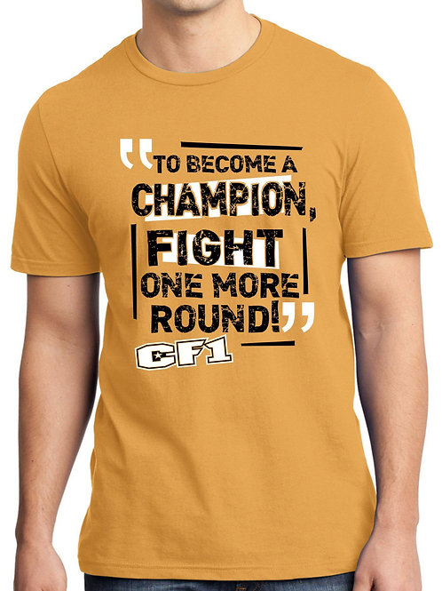 """Champion""Golden Yellow T-shirt"