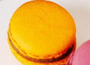 Gisborn Orange & chocolate macaron box of 6