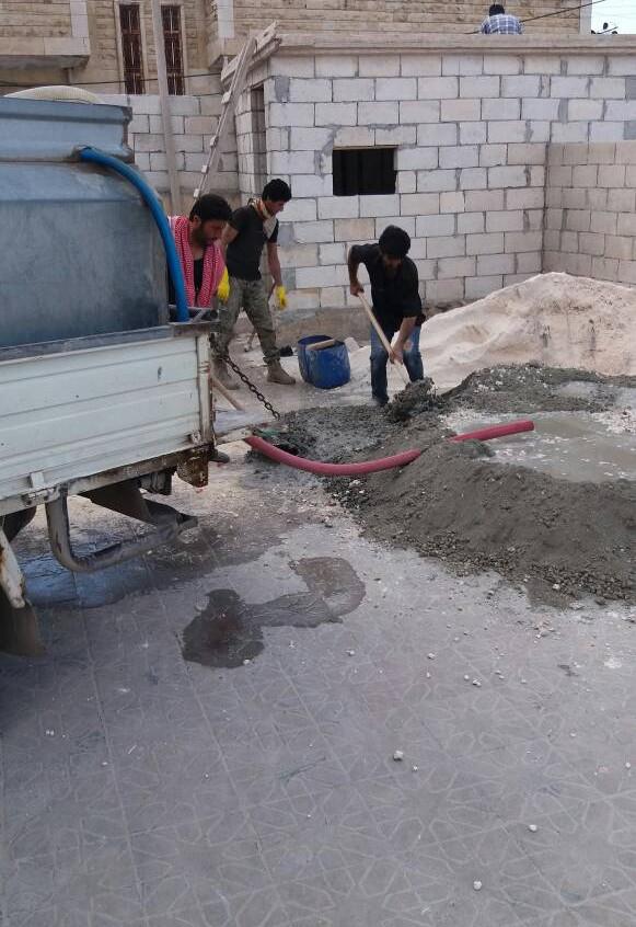 Syriaid Wiederaufbau Al Yarmouk
