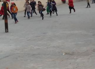 Wiederaufbau der Al-Yarmouk Schule in Kafar Nubul II