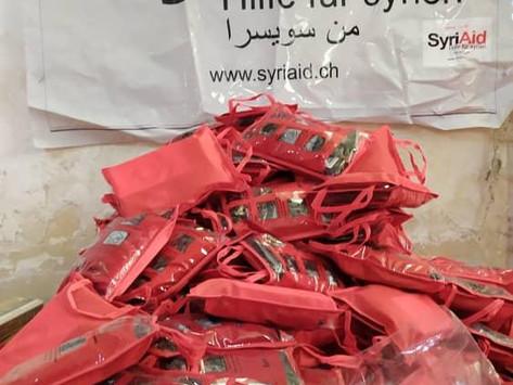 Spendenaufruf und Informationen zur Lage in Syrien