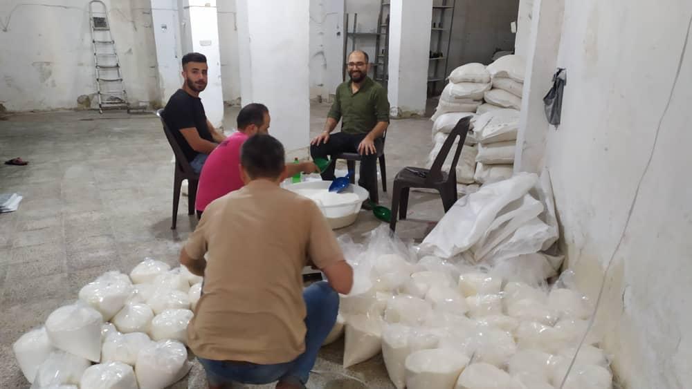 syriaid essenspakete abpacken_2