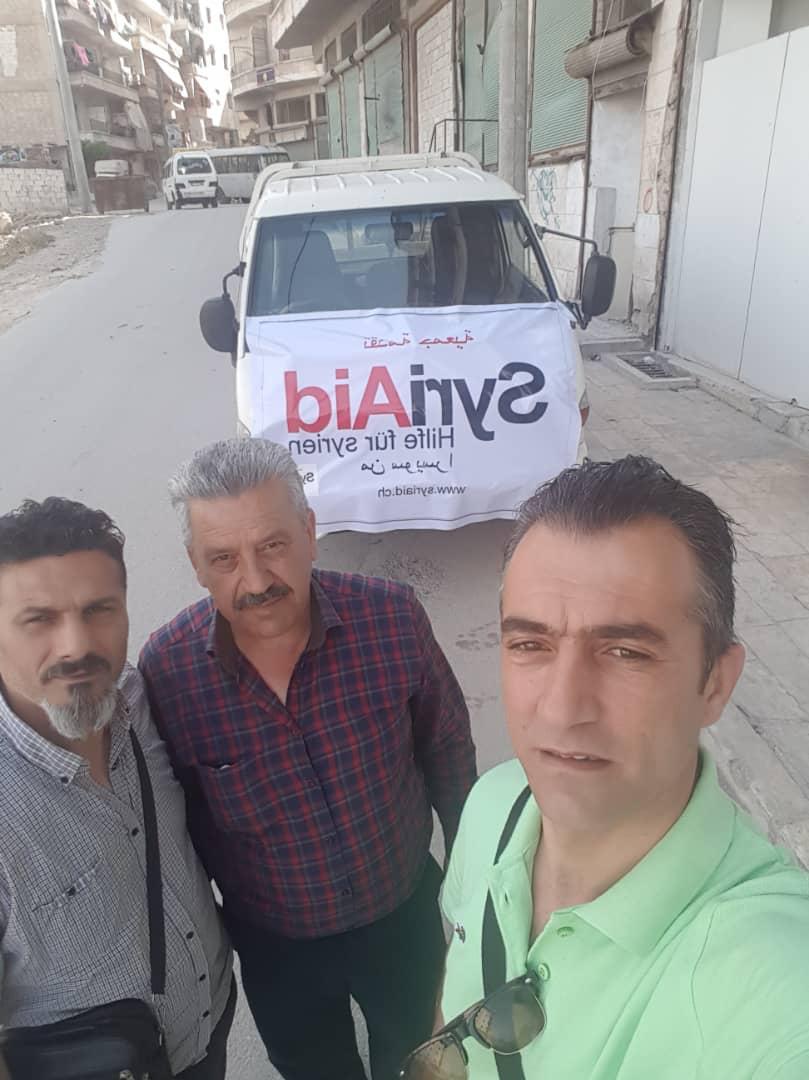 syriaid essenaktion freiwillige