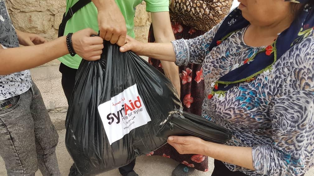 syriaid essenspakete verteilen_2