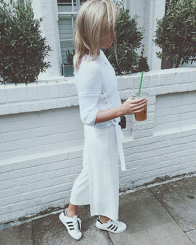 Knit- Marella, Culottes- Zara, Bag- Chanel