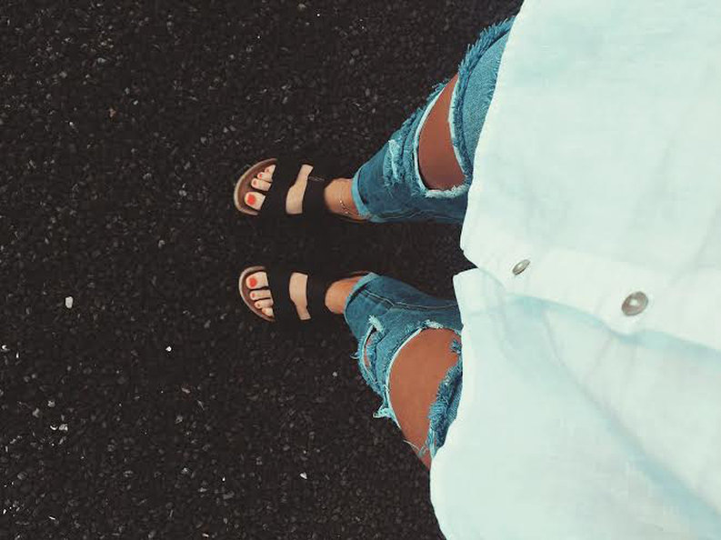 Denim and birks