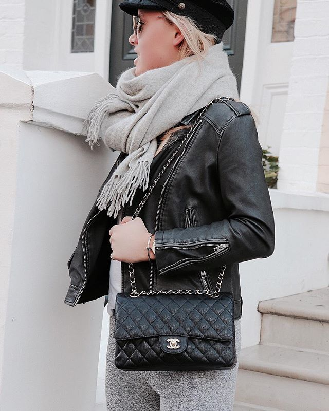 92957e3d1cf Leather Jacket- Topshop, Scarf- Scotch and Soda
