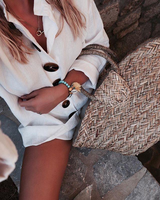 Beach attire 🐚