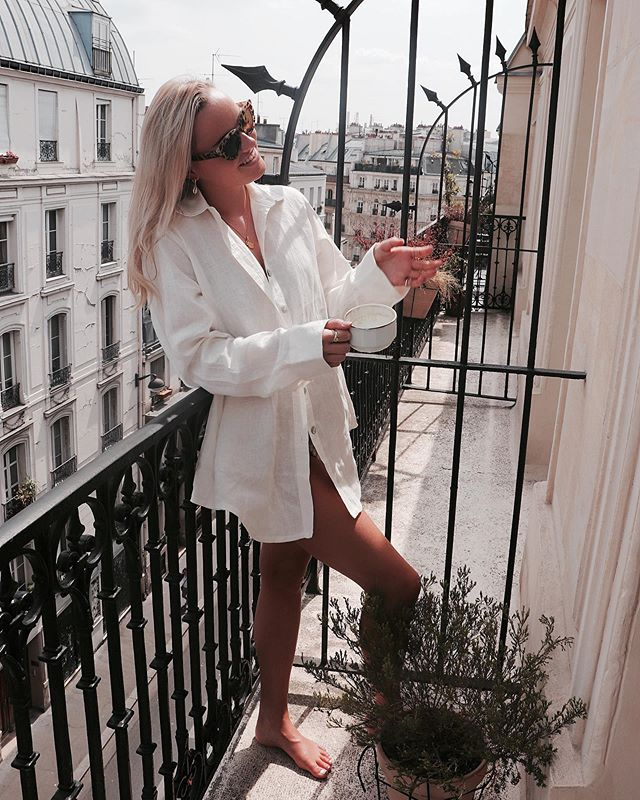 Mornings in Paris ☕️✨ _lepigalleparis