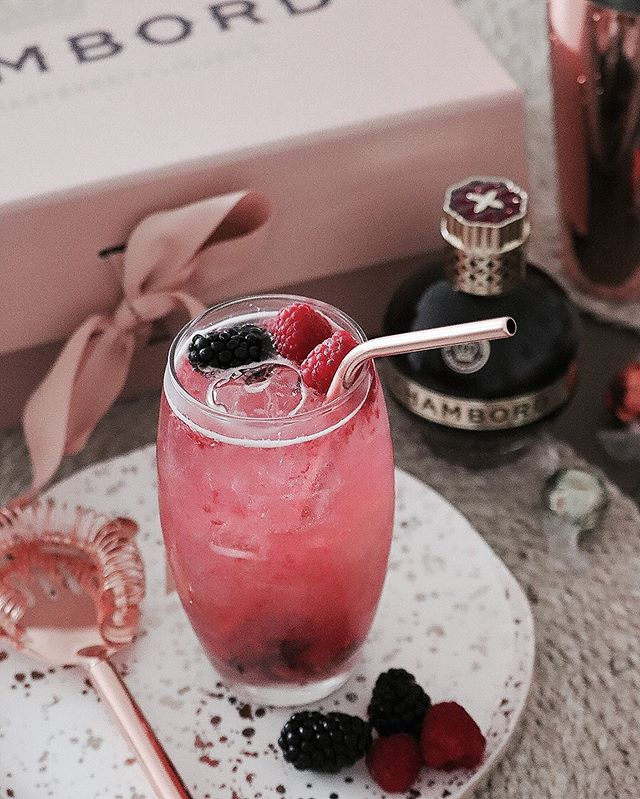 Chambord Winter Berry Mule