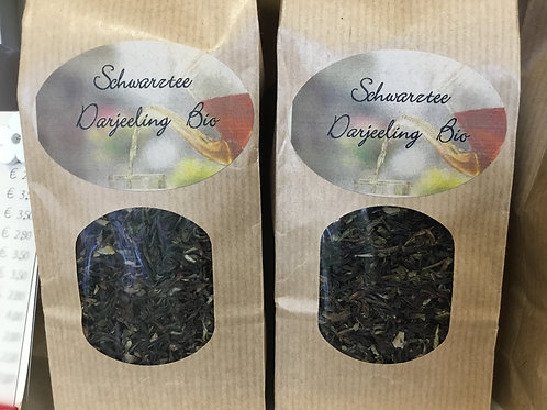 Schwarzer Tee Darjeeling Bio