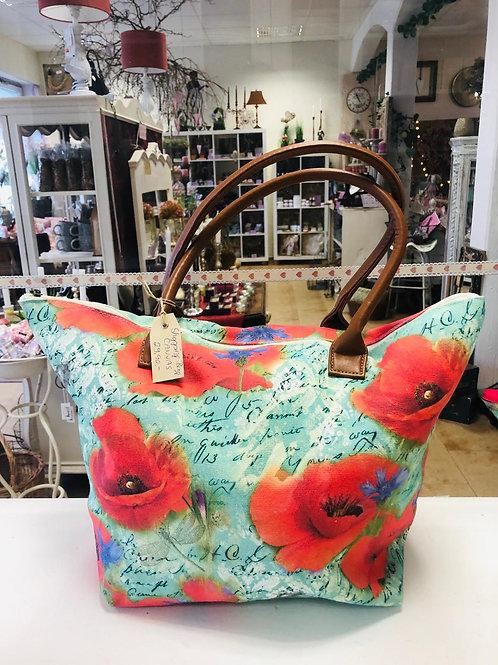 Shopping Bag Klatschmohn