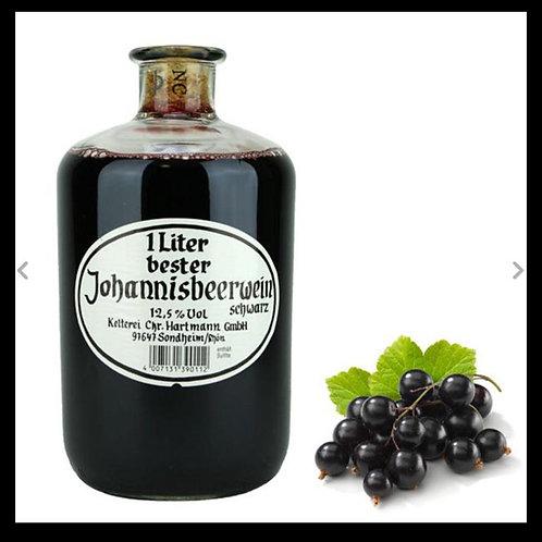 Johannisbeerwein schwarz