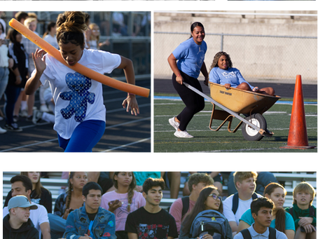 Homecoming Assembly Enjoyed by All!