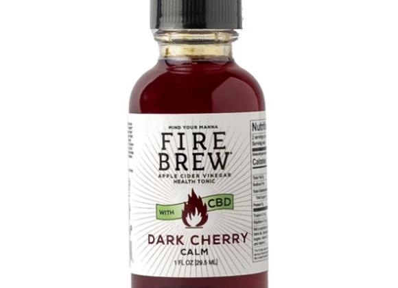 Dark Cherry CBD Power Shot - by Mind Your Manna
