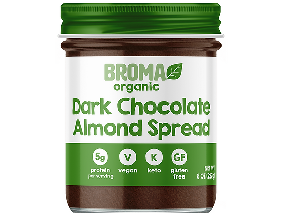 Big Mama Dark Chocolate Almond Spread - by Broma Spread