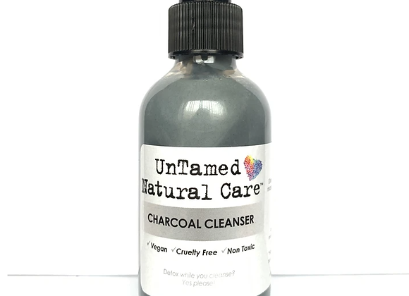 Charcoal Cleanser Detox Face Wash - by Untamed Natural Care
