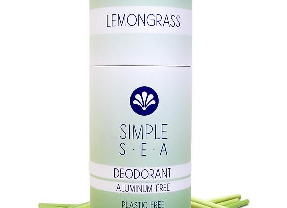 Lemongrass All Natural Deodorant - by Simple Sea