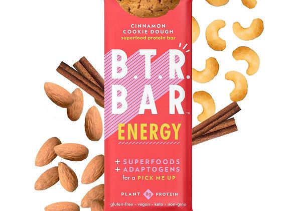 Cinnamon Cookie Dough ENERGY Bars (4 count) - by B.T.R. Bar