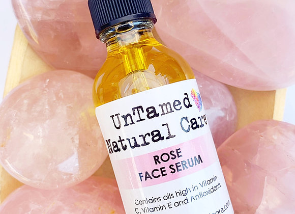 Rose Face Serum - by Untamed Natural Care