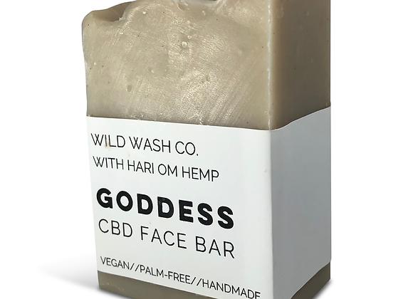 Green Goddess Face Bar - by Hari Om Hemp