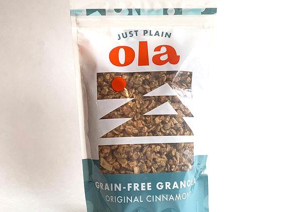 Cinnamon Grain-Free Granola - by Just Plain 'Ola