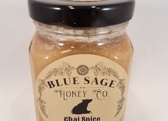 Chai Spice Infused Raw Honey - by Blue Sage Honey Company