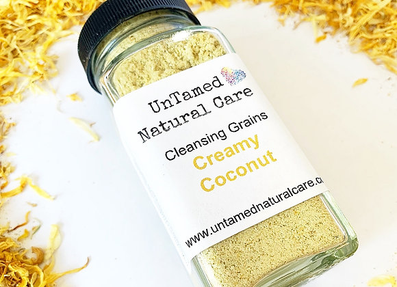 Creamy Coconut Cleansing Grains - by Untamed Natural Care