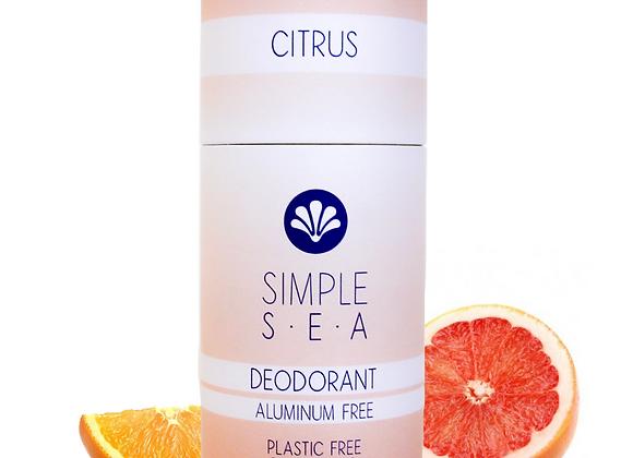 Citrus All Natural Deodorant - by Simple Sea