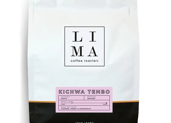 Kenya Kichwa Tembo Coffee Blend - by Lima Coffee Roasters