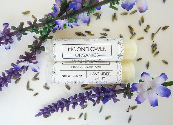 Lavender Mint Chapstick - by Moonflower Organics