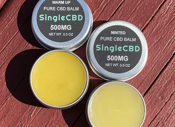 Mint CBD Balm (Extra Strength) - by SingleCBD x Emanate Essentials