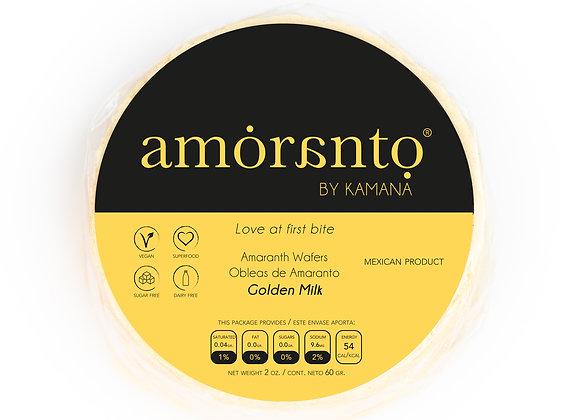 Golden Milk Wafers - by Amoranto Snacks