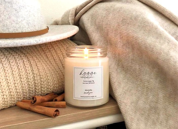 Hygge (Brown Sugar & Fig) Scented Candle - by Sincerely Sarah