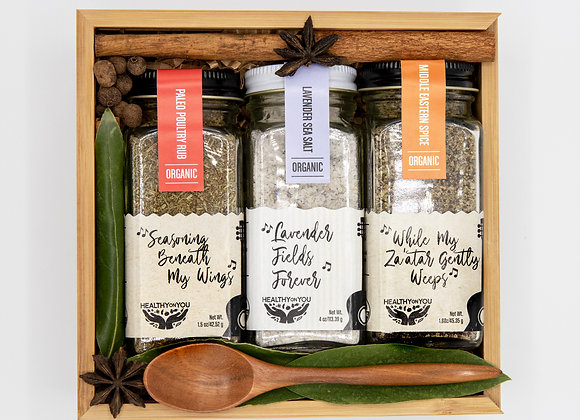 Paleo Rhythms Spice Box - by Healthy on You