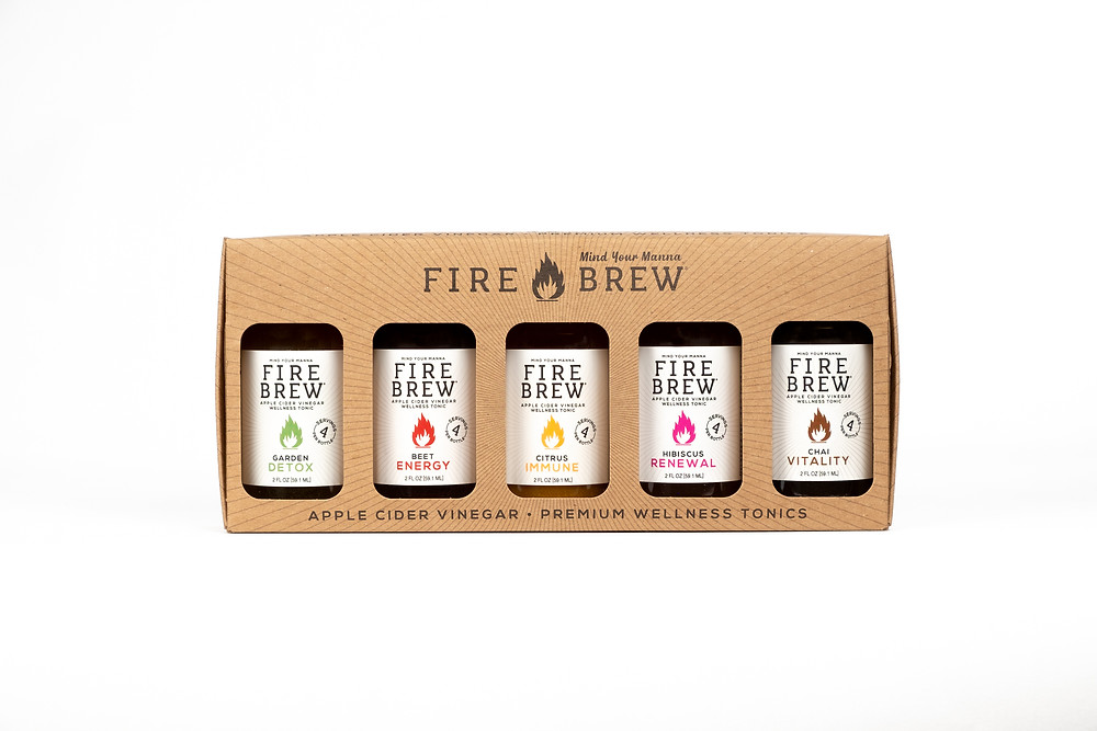 Fire Brew Wellness Tonic Gift Pack (5 pack)