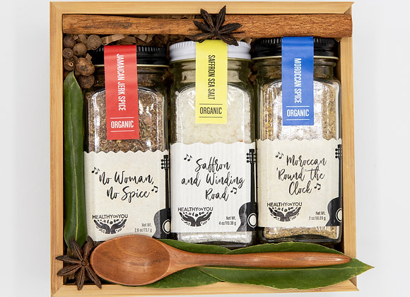 Turn Up the Spice Box - by Healthy on You