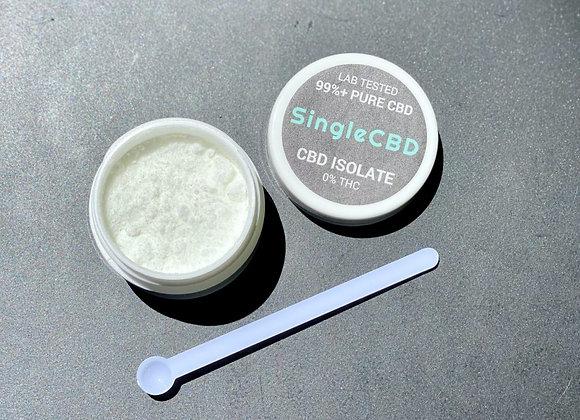 Pure CBD Isolate (powder) - by SingleCBD